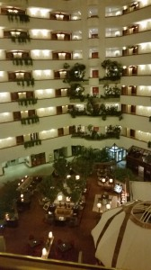 Hotel from inside